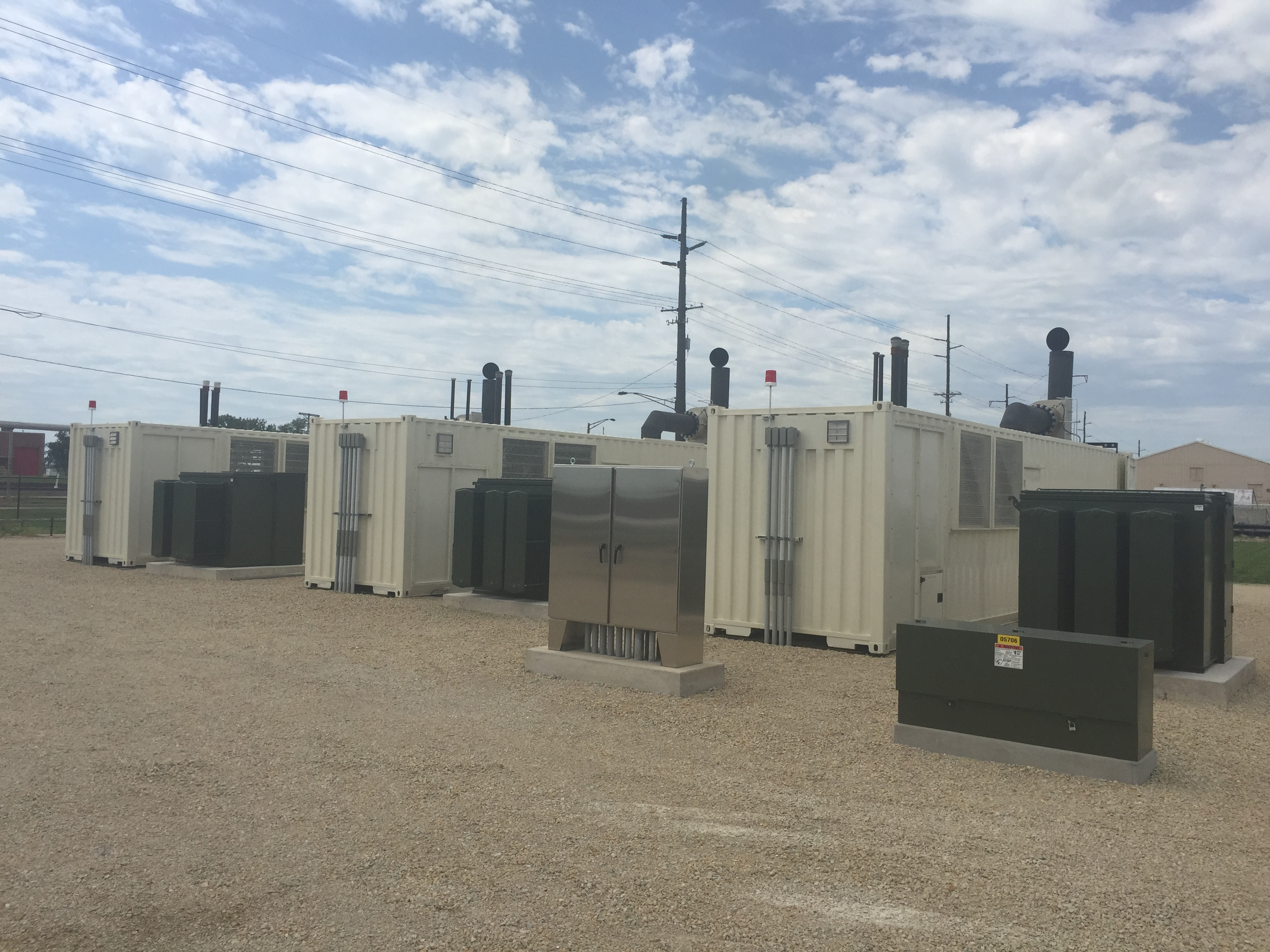 6 MW units June 10 first day running